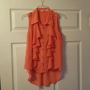 Coral/Orange Top